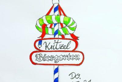 Kritzelspiele, #Kritzelspiele, Biergarten, Marianne Rady