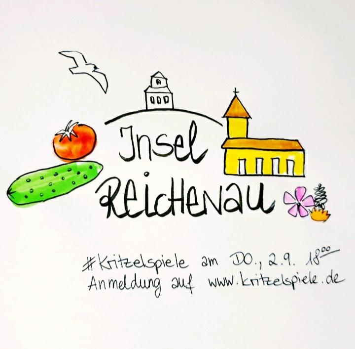 Reichenau, kritzelspiele, #kritzelspiele